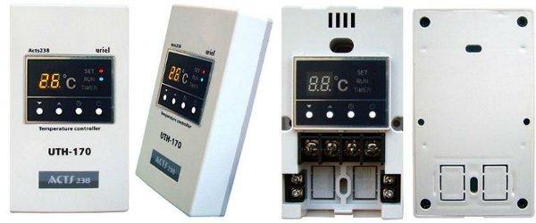 Termosztát infrafűtés vezérléshez. UTH 170