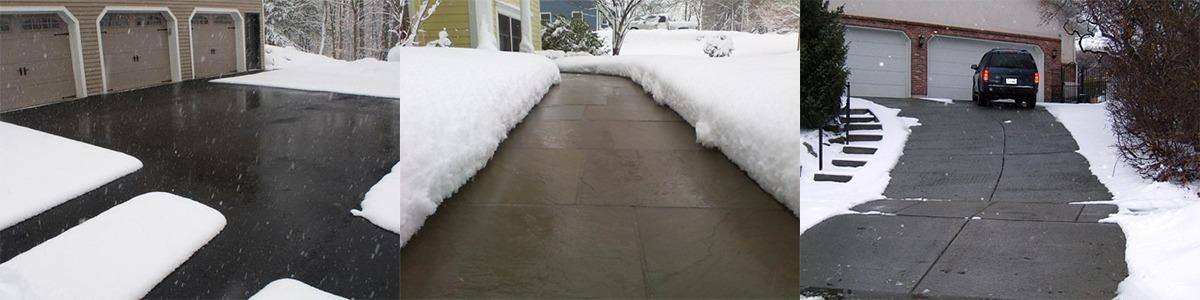 fűtőkábel-hóolvasztás, jégolvasztás