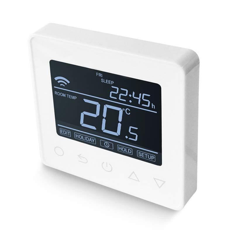 fehér wifis pro termosztát