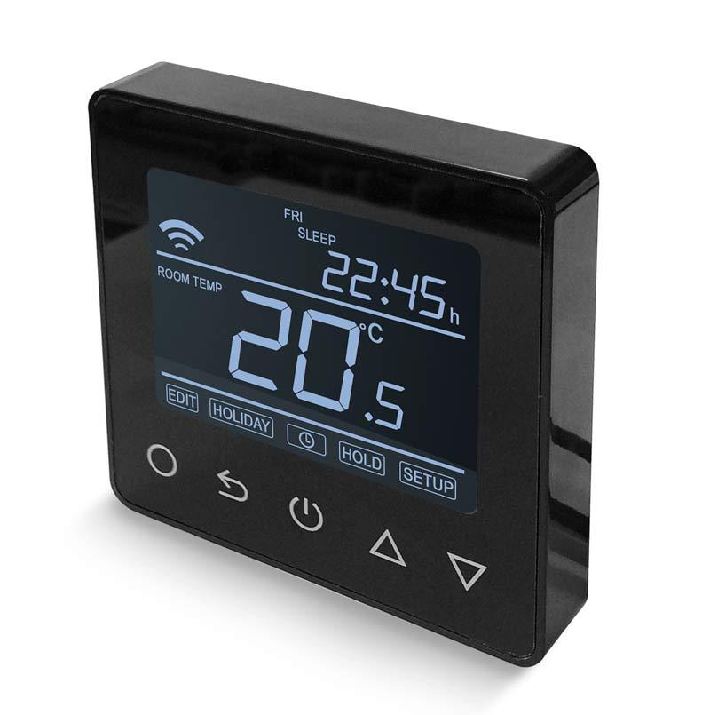 fekete wifis pro termosztát