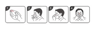 helyes maszk használat