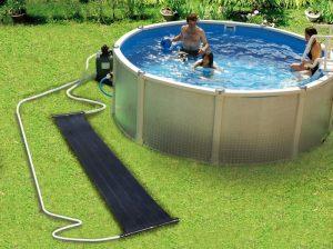 Szolár medencefűtés